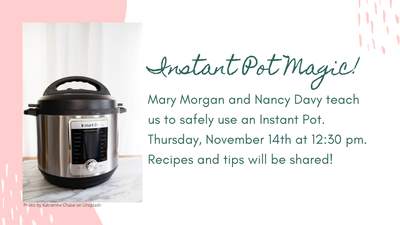 Instant Pot Magic!