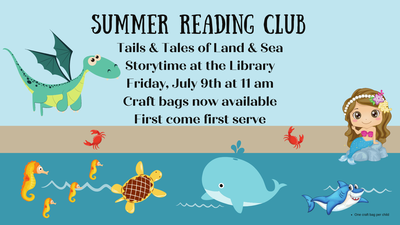 Tails & Tales of Land and Sea Storytime