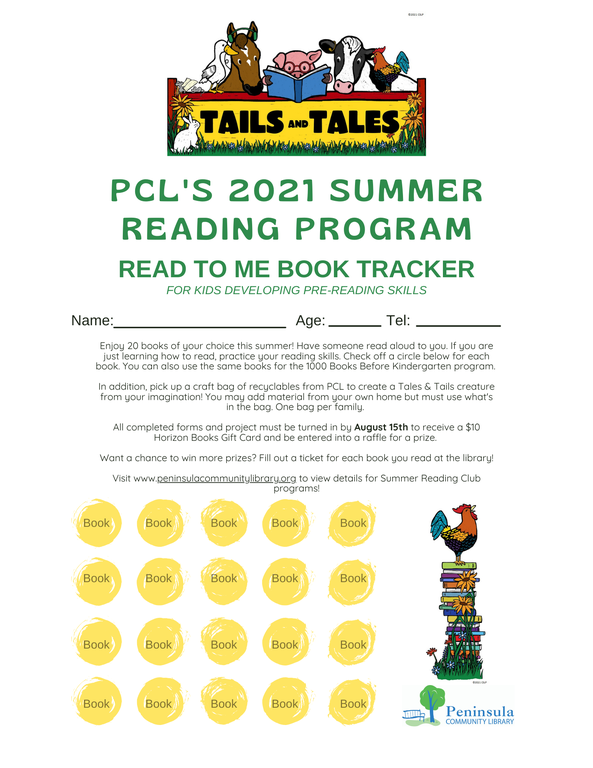 SRC Pre Reader Log 2021